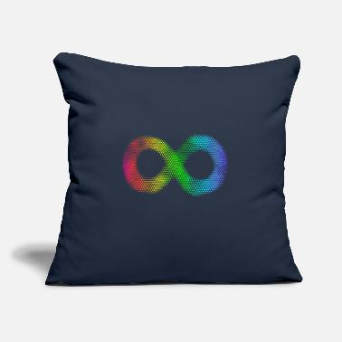 "Adhd Symbols Autism. Neurodiversity Symbol. - Throw Pillow Cover 18"" x 18"""