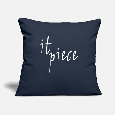 "Piece It Piece - Throw Pillow Cover 18"" x 18"""