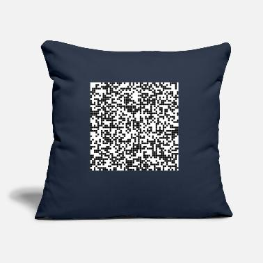 "Pixel pixel - Throw Pillow Cover 18"" x 18"""