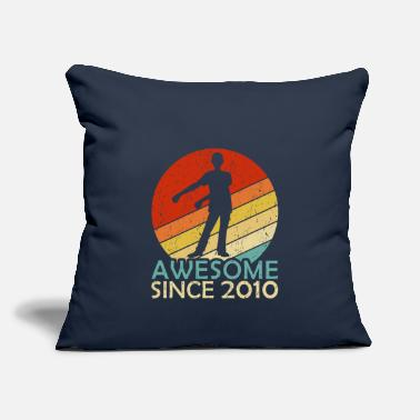 "Years Gift for Ten 10 Year Old Birthday Boy Awesome Sinc - Throw Pillow Cover 18"" x 18"""