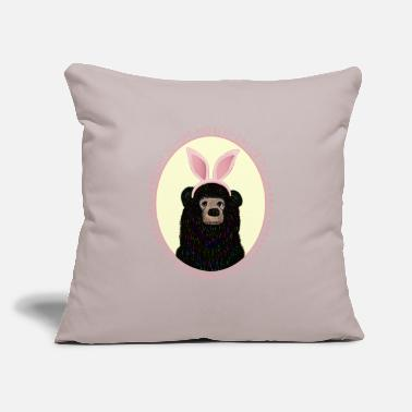 "Easter Egg Easter Egg Hunt - Throw Pillow Cover 18"" x 18"""