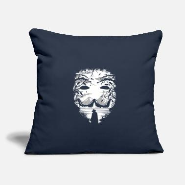 Mask The Mask - Throw Pillow Cover