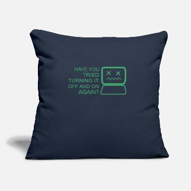 "Computer Science Computer - Throw Pillow Cover 18"" x 18"""
