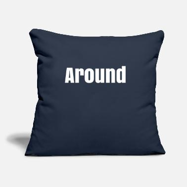 "Around Around - Throw Pillow Cover 18"" x 18"""