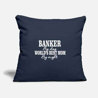 "Banker By Day Banker by day - Throw Pillow Cover 18"" x 18"""