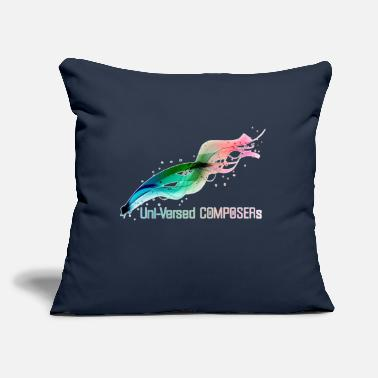 "Uni Uni-Versed COMPOSERs - Throw Pillow Cover 18"" x 18"""