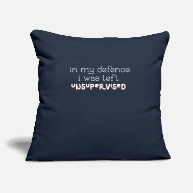 "Defence In My Defence - Throw Pillow Cover 18"" x 18"""