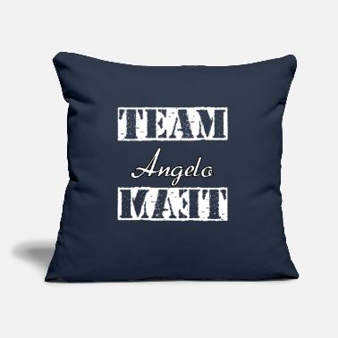 "Angelo Team Angelo - Throw Pillow Cover 18"" x 18"""
