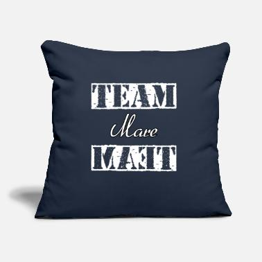 "Mare Team Mare - Throw Pillow Cover 18"" x 18"""