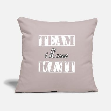 "Mare Team Mares - Throw Pillow Cover 18"" x 18"""
