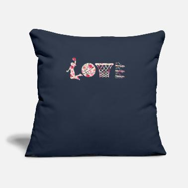 "Love And Basketball Love Basketball - Throw Pillow Cover 18"" x 18"""