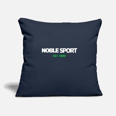 "Nobleness Noble - Throw Pillow Cover 18"" x 18"""