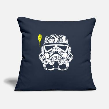 "Tatoo Stormtrooper Tatoo - Throw Pillow Cover 18"" x 18"""