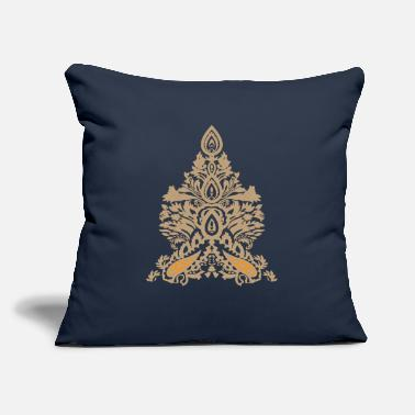 "Illustrator illustration - Throw Pillow Cover 18"" x 18"""