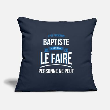 "Baptist Baptist nobody can gift - Throw Pillow Cover 18"" x 18"""
