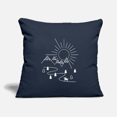"Hack hacking - Throw Pillow Cover 18"" x 18"""