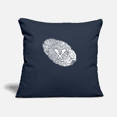 "Dns fingerabdruck dna dns geschenk Klempner - Throw Pillow Cover 18"" x 18"""