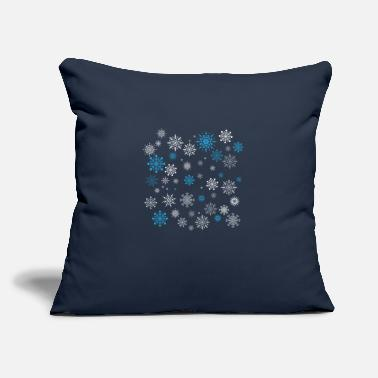 "Snowflake Snowflakes - Throw Pillow Cover 18"" x 18"""