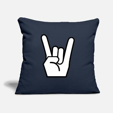 "Rock On Rock On - Throw Pillow Cover 18"" x 18"""