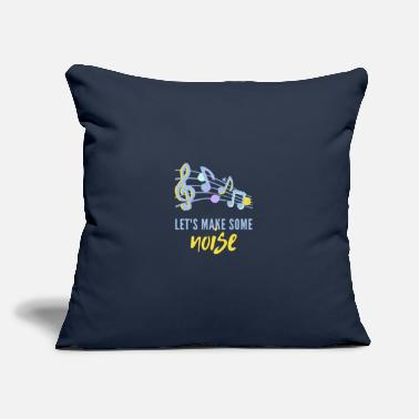 "Noise Noise - Throw Pillow Cover 18"" x 18"""
