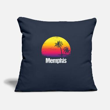"Vacation Tennessee Summer Vacation Memphis Shirts - Throw Pillow Cover 18"" x 18"""