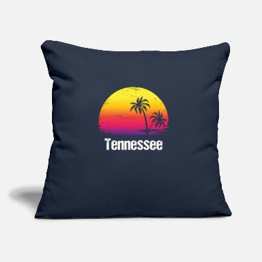 "Vacation Tennessee Summer Vacation Tennessee Shirts - Throw Pillow Cover 18"" x 18"""