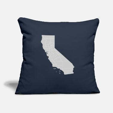 "California california - Throw Pillow Cover 18"" x 18"""