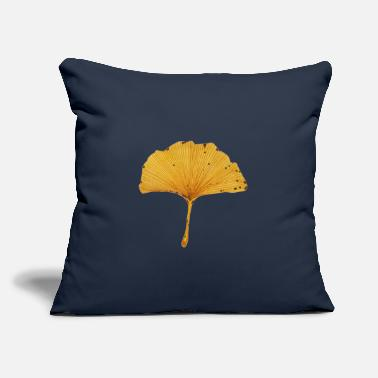 "O Ginkgo Leaf Tree - Throw Pillow Cover 18"" x 18"""