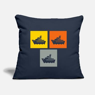 "Cruiser Cruiser - Throw Pillow Cover 18"" x 18"""