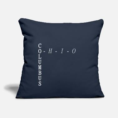 "Sportsmanship Columbus, Ohio T-shirt - Throw Pillow Cover 18"" x 18"""