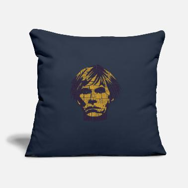 "Arttowear Calligram - Andy Warhol - Throw Pillow Cover 18"" x 18"""