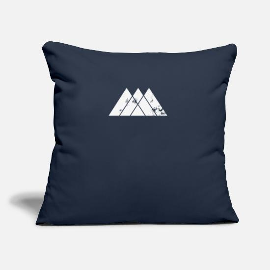 "Destiny Pillow Cases - Warlock - Throw Pillow Cover 18"" x 18"" navy"