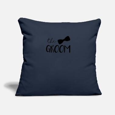 "Wedding Shower Wedding The Groom Bridal Shower - Throw Pillow Cover 18"" x 18"""