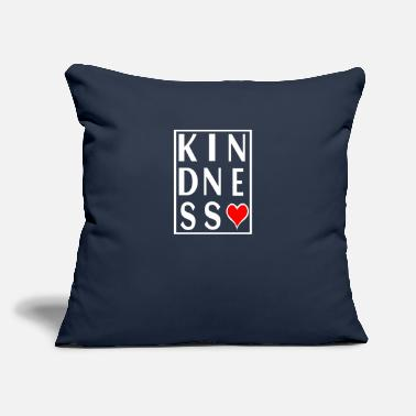 "Anti Bully Kindness - Throw Pillow Cover 18"" x 18"""