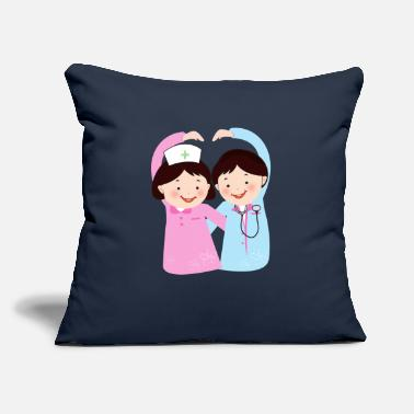 "Hospital hospital - Throw Pillow Cover 18"" x 18"""