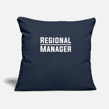 "Region Regional Manager Office TShirt - Throw Pillow Cover 18"" x 18"""