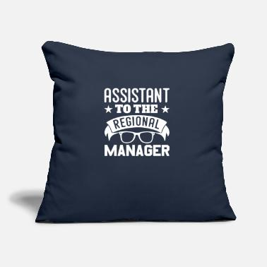 "Property Funny Assistant To The Regional Manager - Throw Pillow Cover 18"" x 18"""