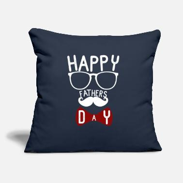 "Fathers fathers day - Throw Pillow Cover 18"" x 18"""