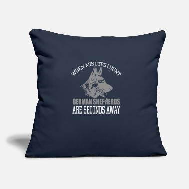 "German Shepherd German Shepherds - Throw Pillow Cover 18"" x 18"""