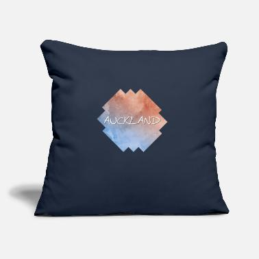 "Auckland Auckland - Throw Pillow Cover 18"" x 18"""