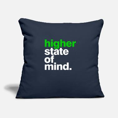 "Higher State Of Mind higher state of mind - Throw Pillow Cover 18"" x 18"""