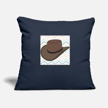 "Poster Hat poster - Throw Pillow Cover 18"" x 18"""