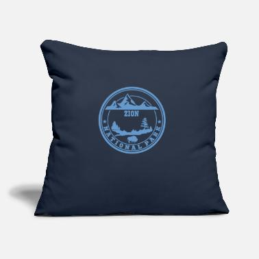 "Zion ZION 13.png - Throw Pillow Cover 18"" x 18"""