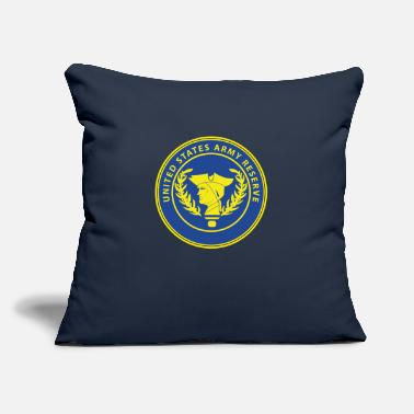 "Army Reserve U.S. Army Reserve - Throw Pillow Cover 18"" x 18"""
