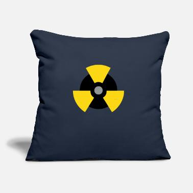 "Nuclear Nuclear HardStyle - Throw Pillow Cover 18"" x 18"""