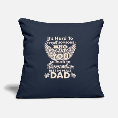 "Rest In Peace Rest In Peace Dad - Throw Pillow Cover 18"" x 18"""