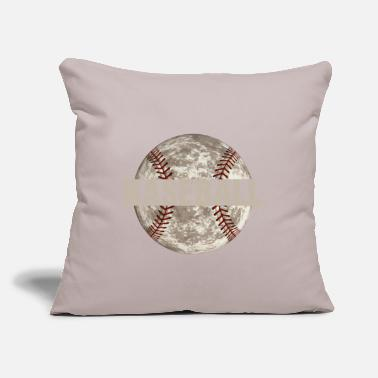 "Game Ball Baseball Game Ball Distressed - Throw Pillow Cover 18"" x 18"""