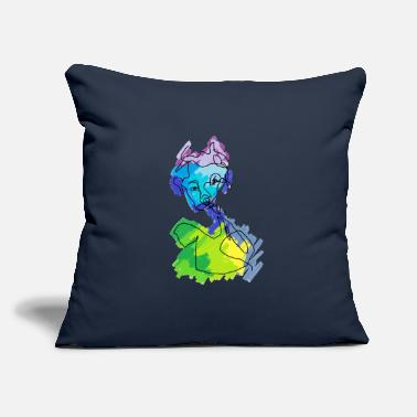 "Affection Affect - Throw Pillow Cover 18"" x 18"""