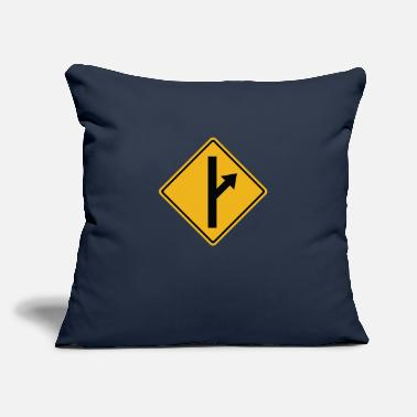"Road Sign MGTOW Road Sign - Throw Pillow Cover 18"" x 18"""