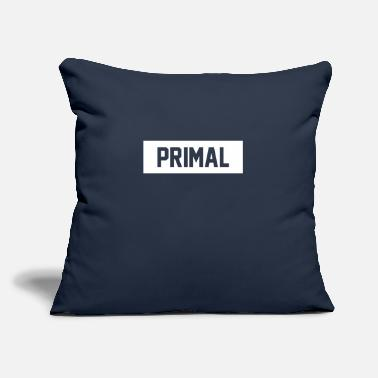 "Primal Primal Brand - Throw Pillow Cover 18"" x 18"""